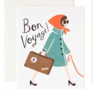 Paris  Bon Voyage Framed Anthropologie Print